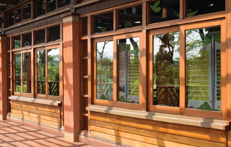 Wie verlängere ich die alten Holzfenster
